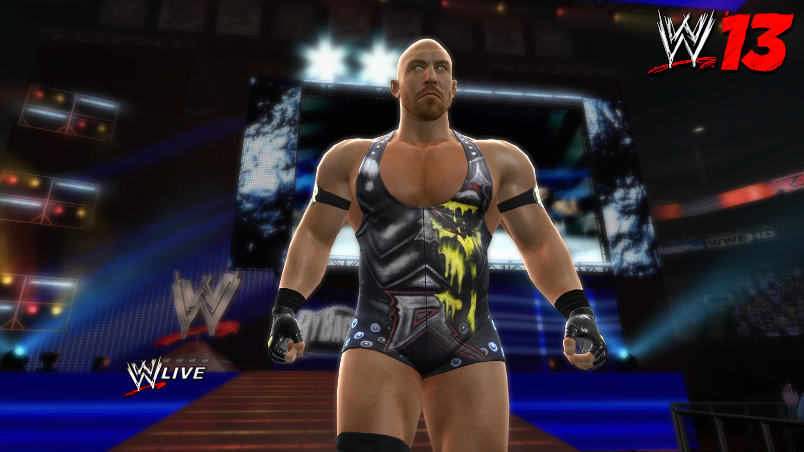 ...good version of Ryback if it was a CAW then yes but for me it's the least realistic character in... wwe...