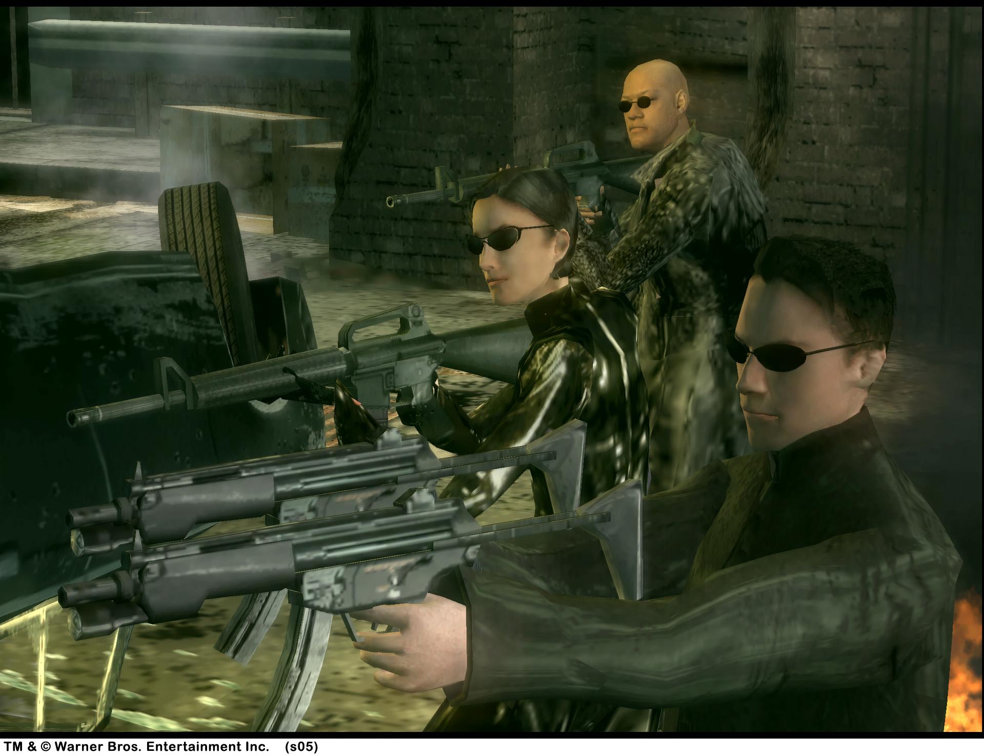 Скачать игру Матрица. Антология / Антология The Matrix.