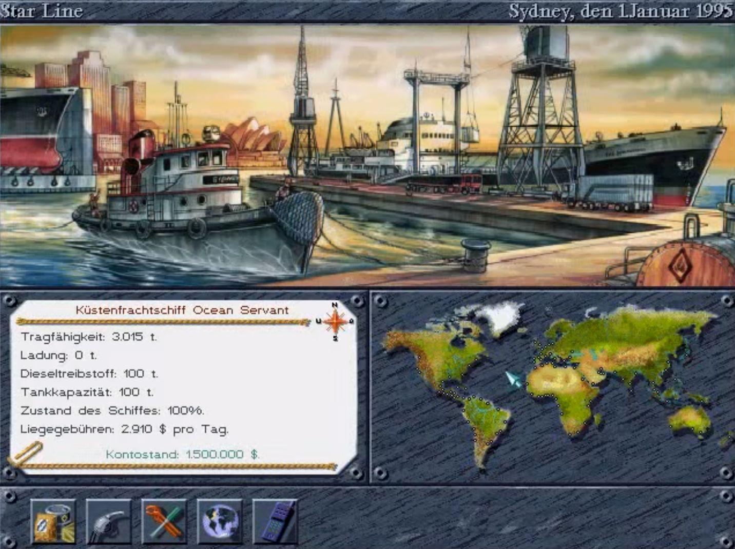 Reederei Spiel