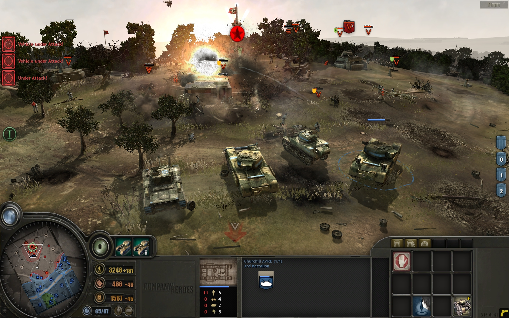Coh Opposing Fronts - DownloadKeeper