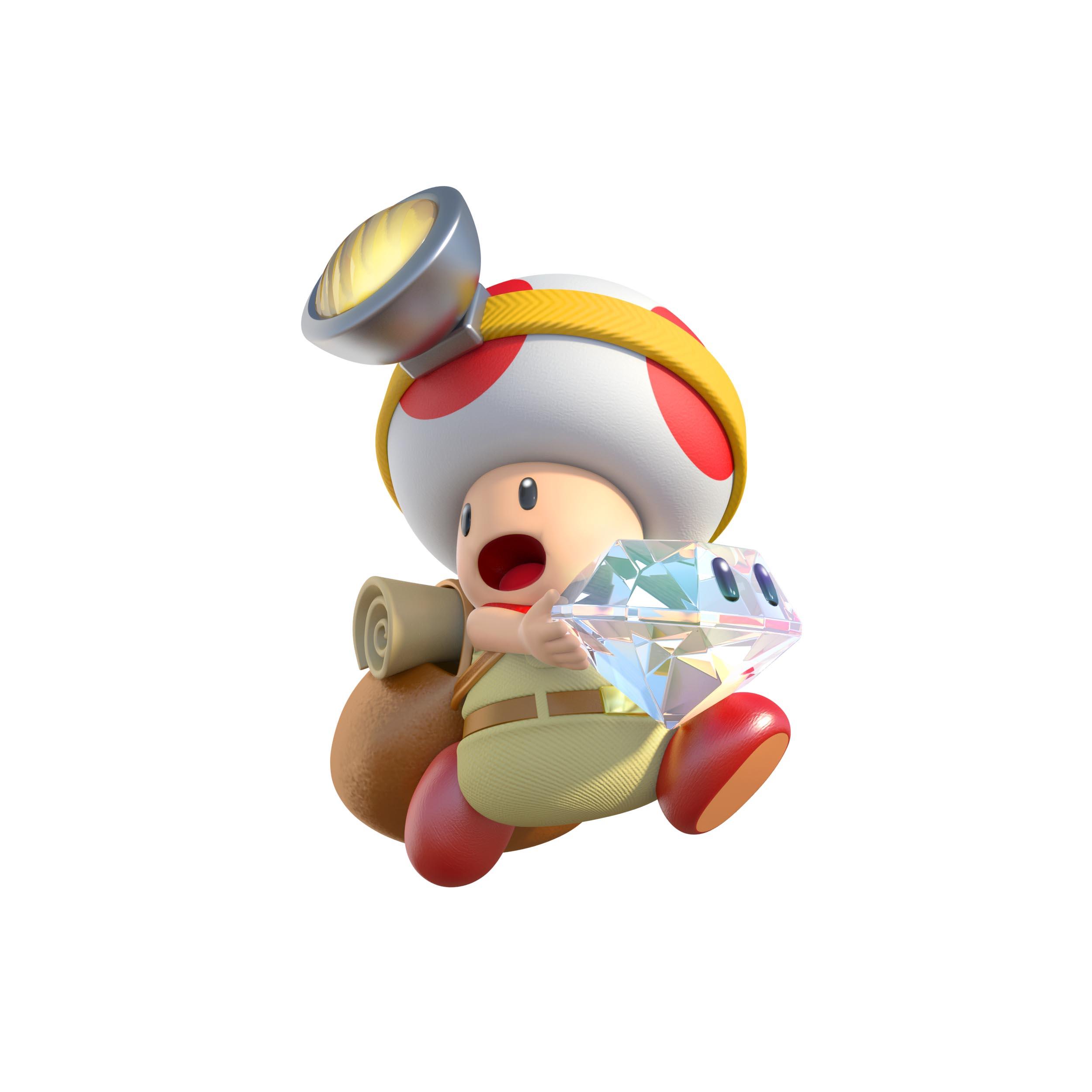 Captain Toad Treasure Tracker Artwork Screenshot