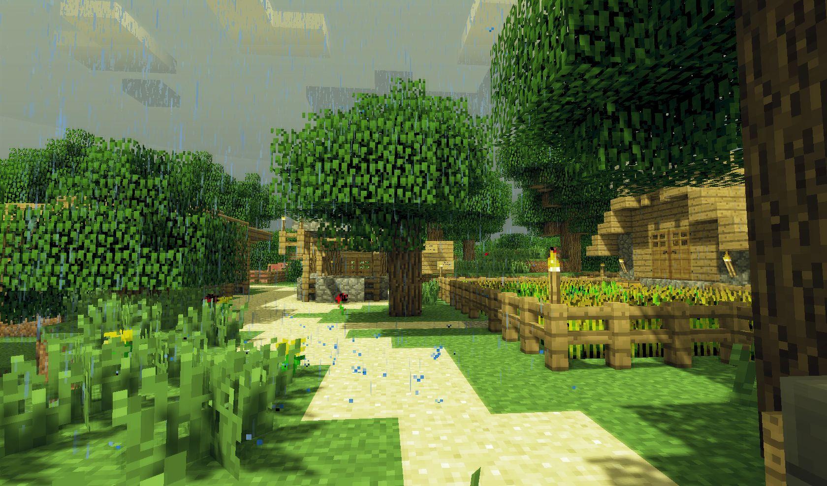 Minecraft sonic ether 39 s unbelievable shaders eigene - Minecraft bilder ...
