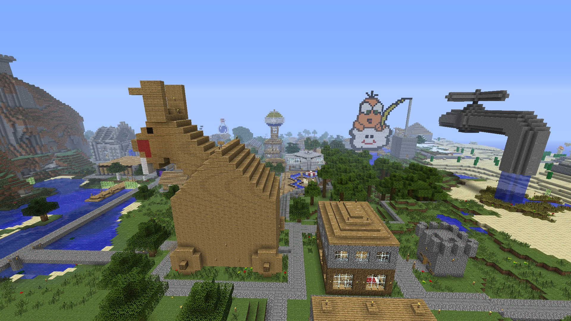 Minecraft 1 2 5 impressionen der mmo welt vom gg - Minecraft bilder ...