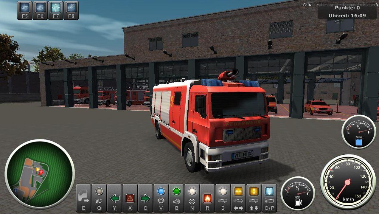 Скачать Werksfeuerwehr-Simulator торрент