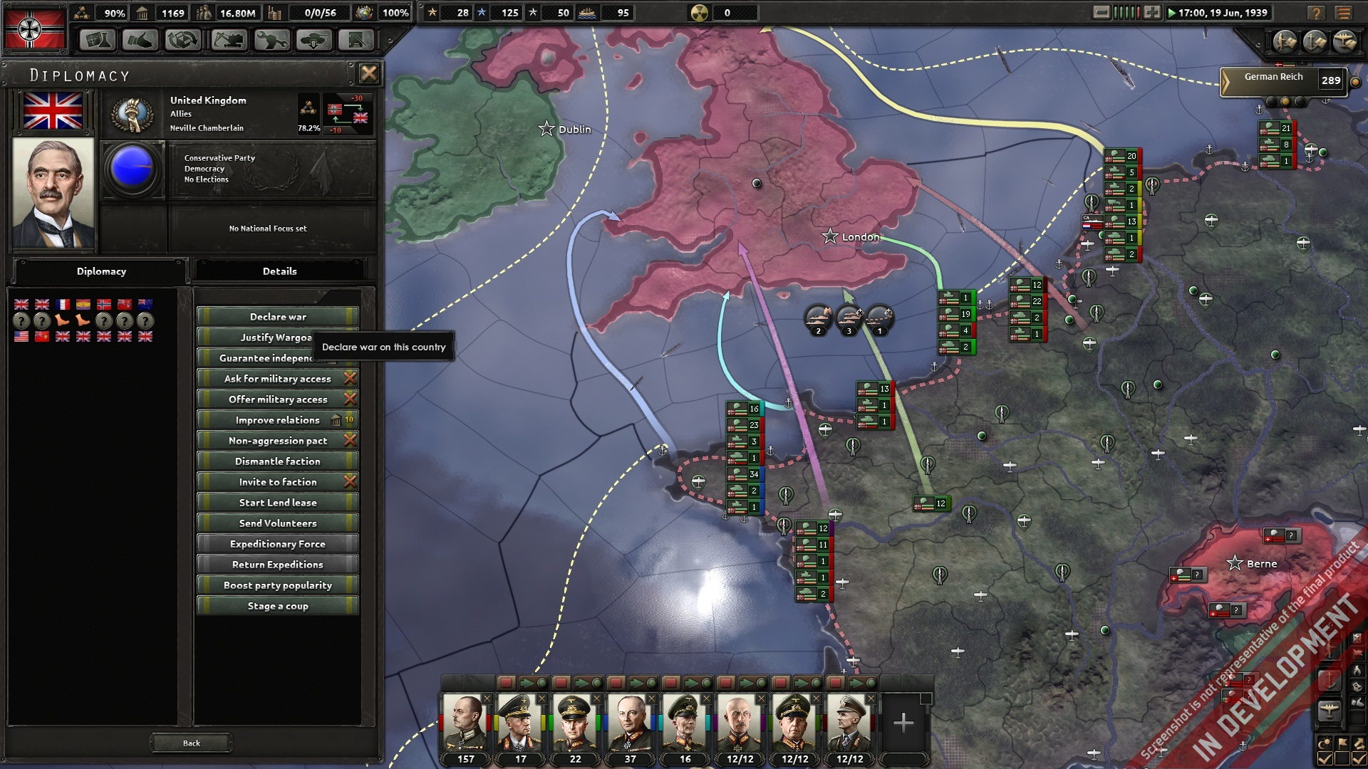 Hearts of Iron IV PC Preview | GameWatcher