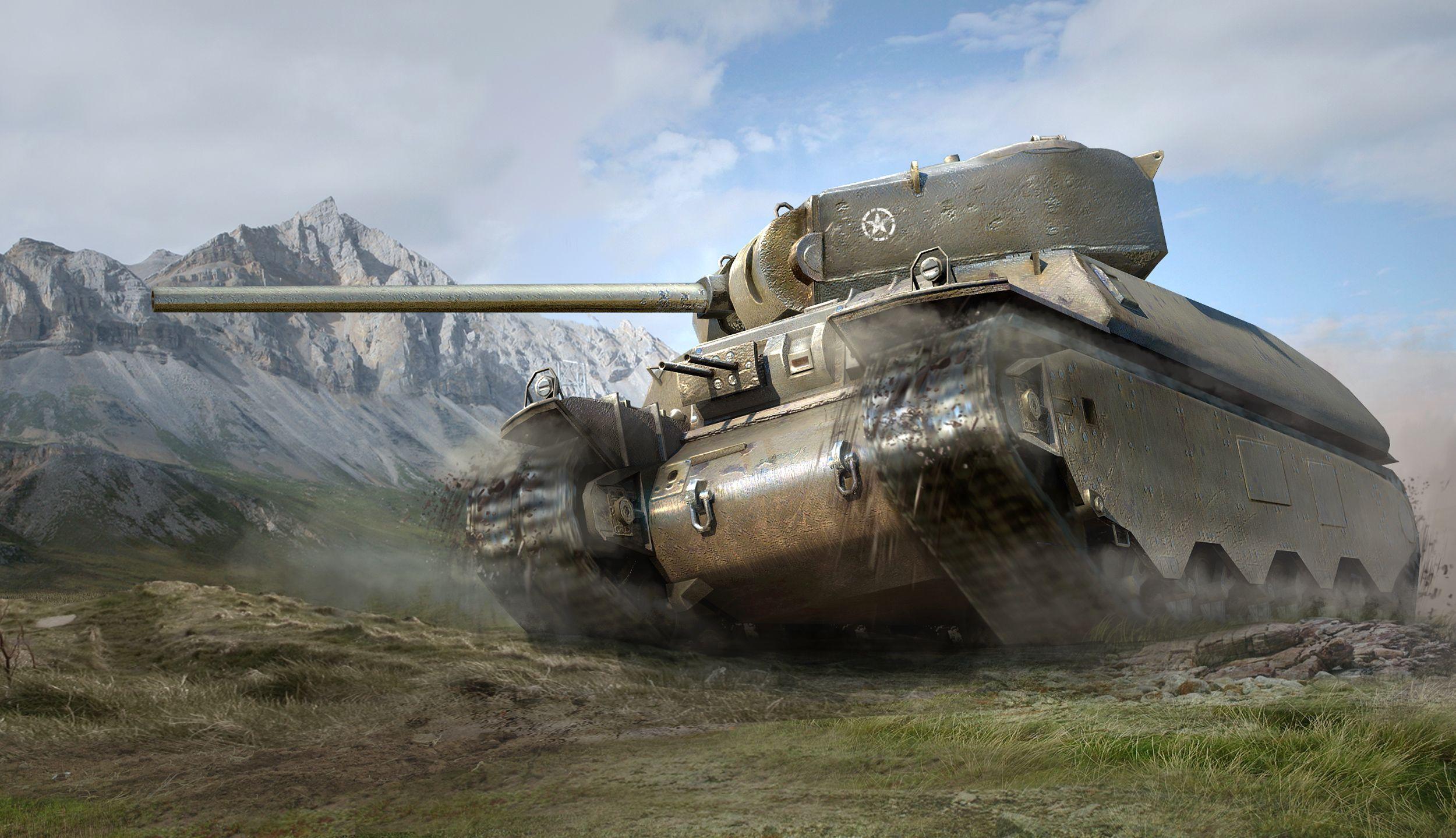 рисунок Тяжелый танк M6