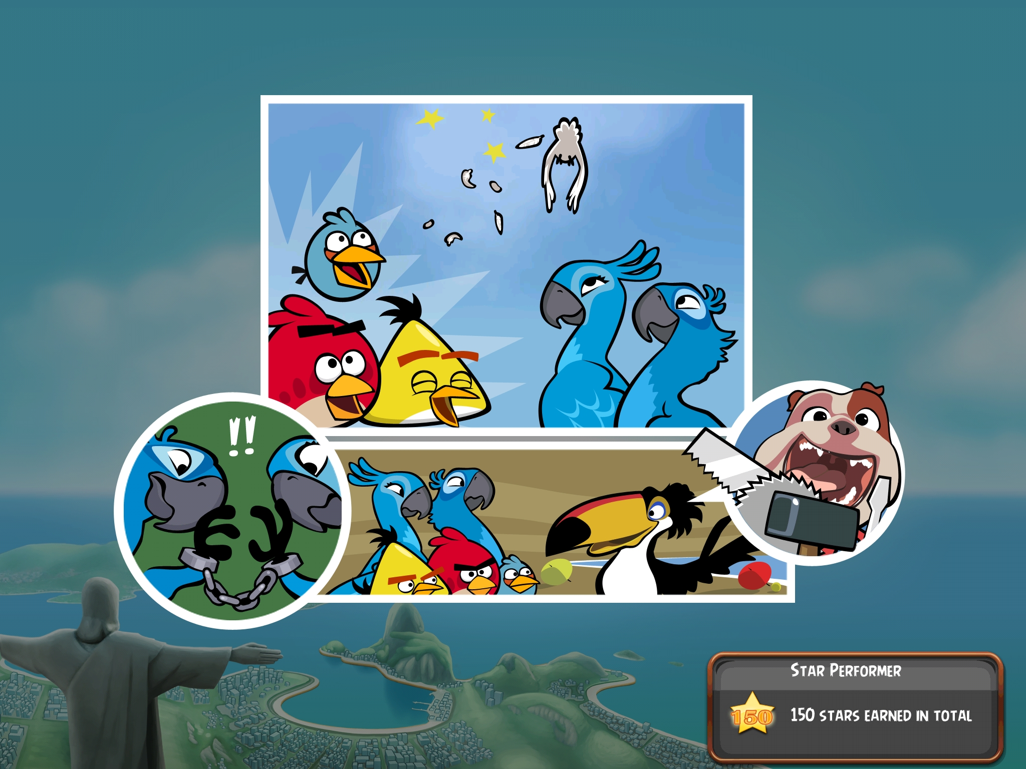 Angry Birds Rio (Eigene Bilder der iPad Version ...