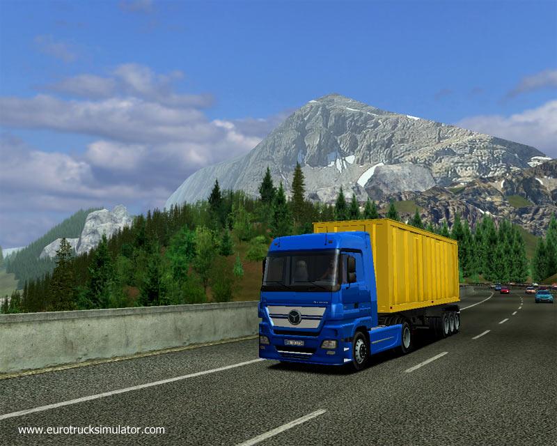 Слить Euro Truck Simulator 1.3 (2009/RePack/ENG) + UA-IX softpk.