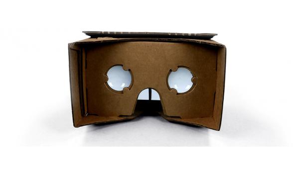 google eigene vr brille cardboard mit pappe und. Black Bedroom Furniture Sets. Home Design Ideas