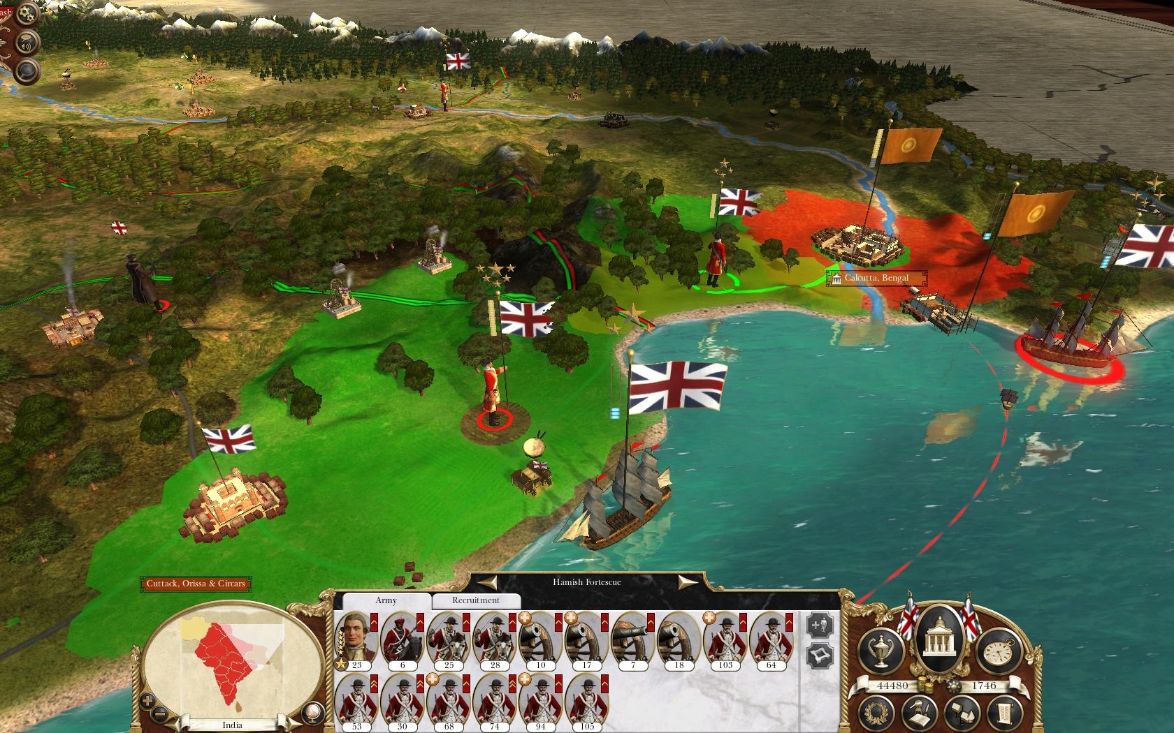 Empire total war - game kolonialisasi terbaik