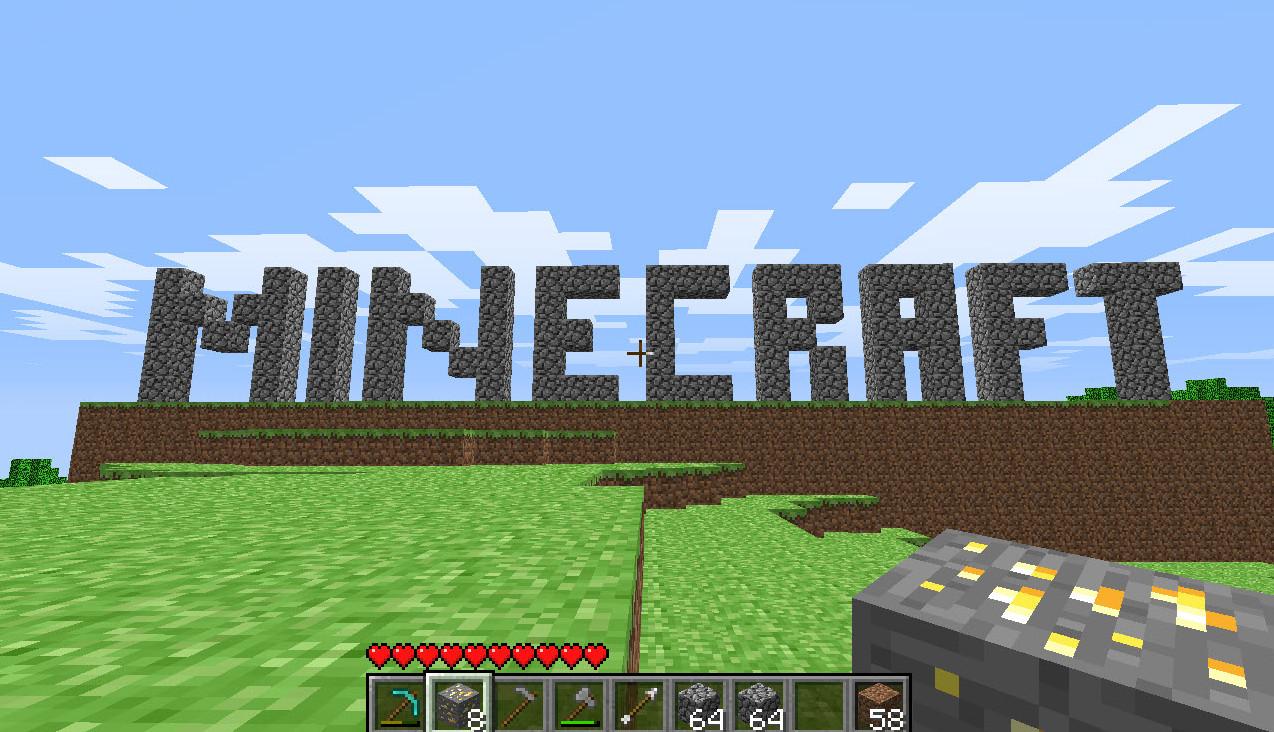 لعبة minecraft pc gamer demo