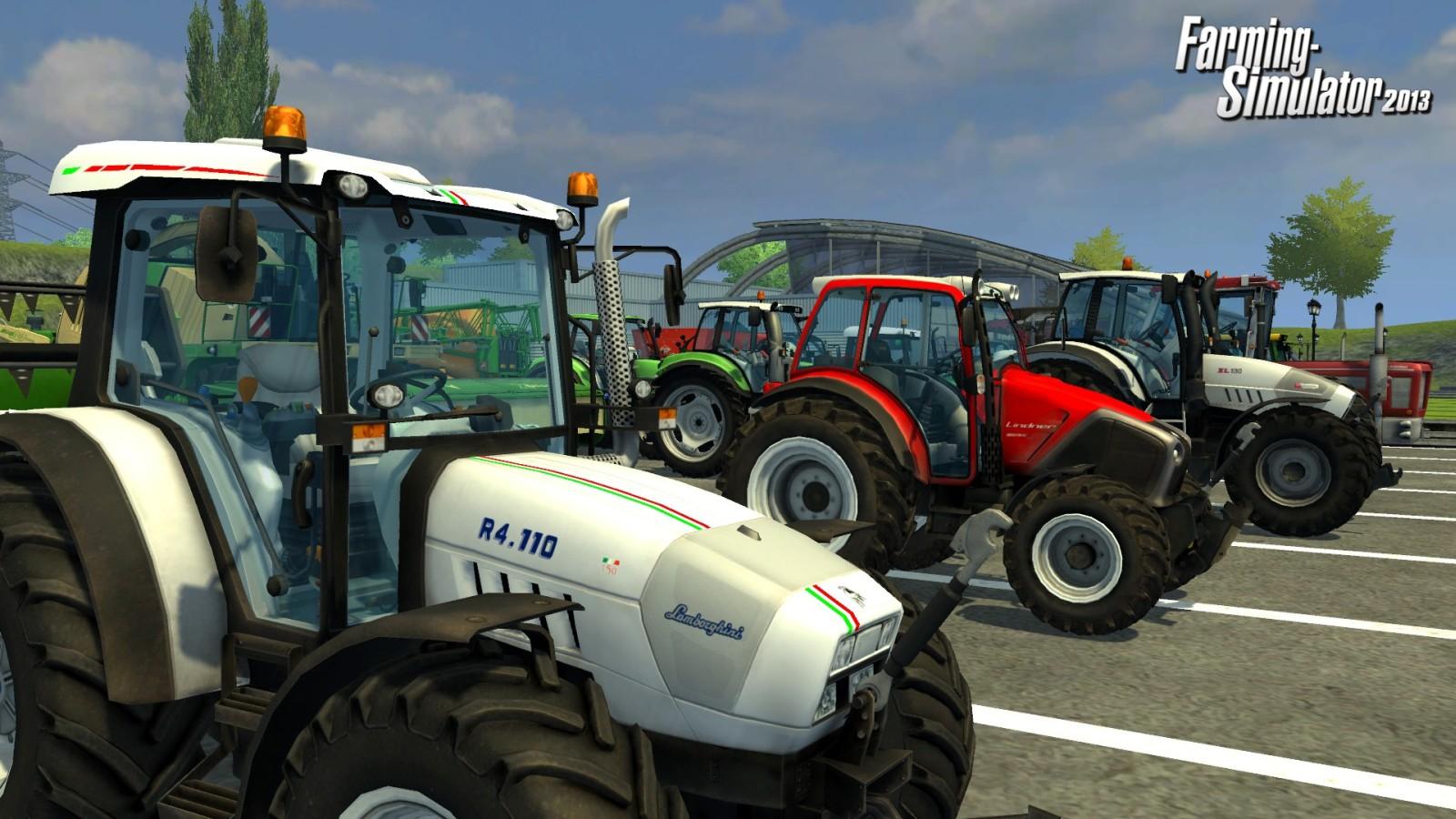 Landwirtschafts-Simulator 2013: Trailer präsentiert Fahrzeuge - News