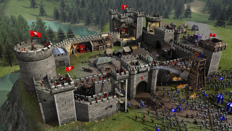 stronghold 2 remaster release bringt den multiplayer modus zur ck news. Black Bedroom Furniture Sets. Home Design Ideas