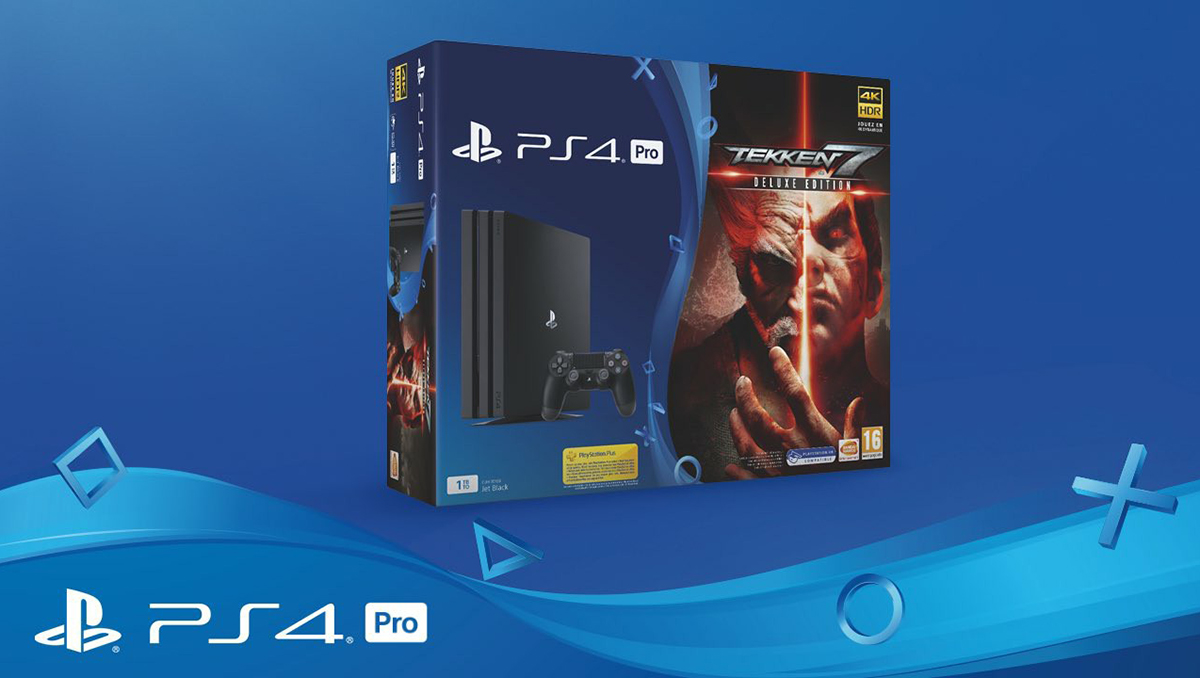 tekken 7 bundles mit ps4 slim und ps4 pro f r europa. Black Bedroom Furniture Sets. Home Design Ideas