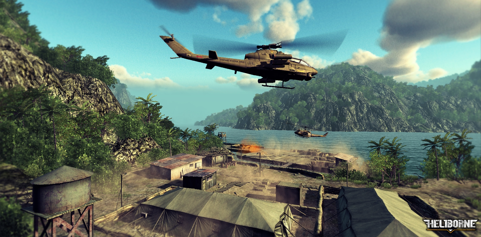 Heli Attack 3 - A free Shoot Em Up Game