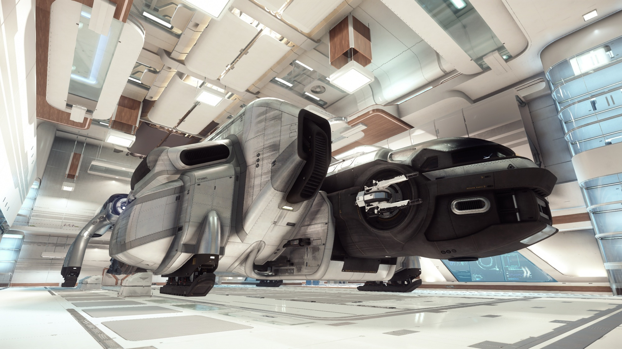 star citizen neuer 2 3 patch bringt 90 meter schiff in den hangar news. Black Bedroom Furniture Sets. Home Design Ideas