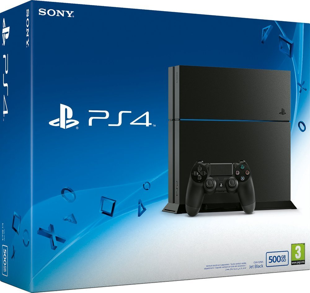 ps4 mit 500 gb festplatte f r 269 euro bei media markt und. Black Bedroom Furniture Sets. Home Design Ideas
