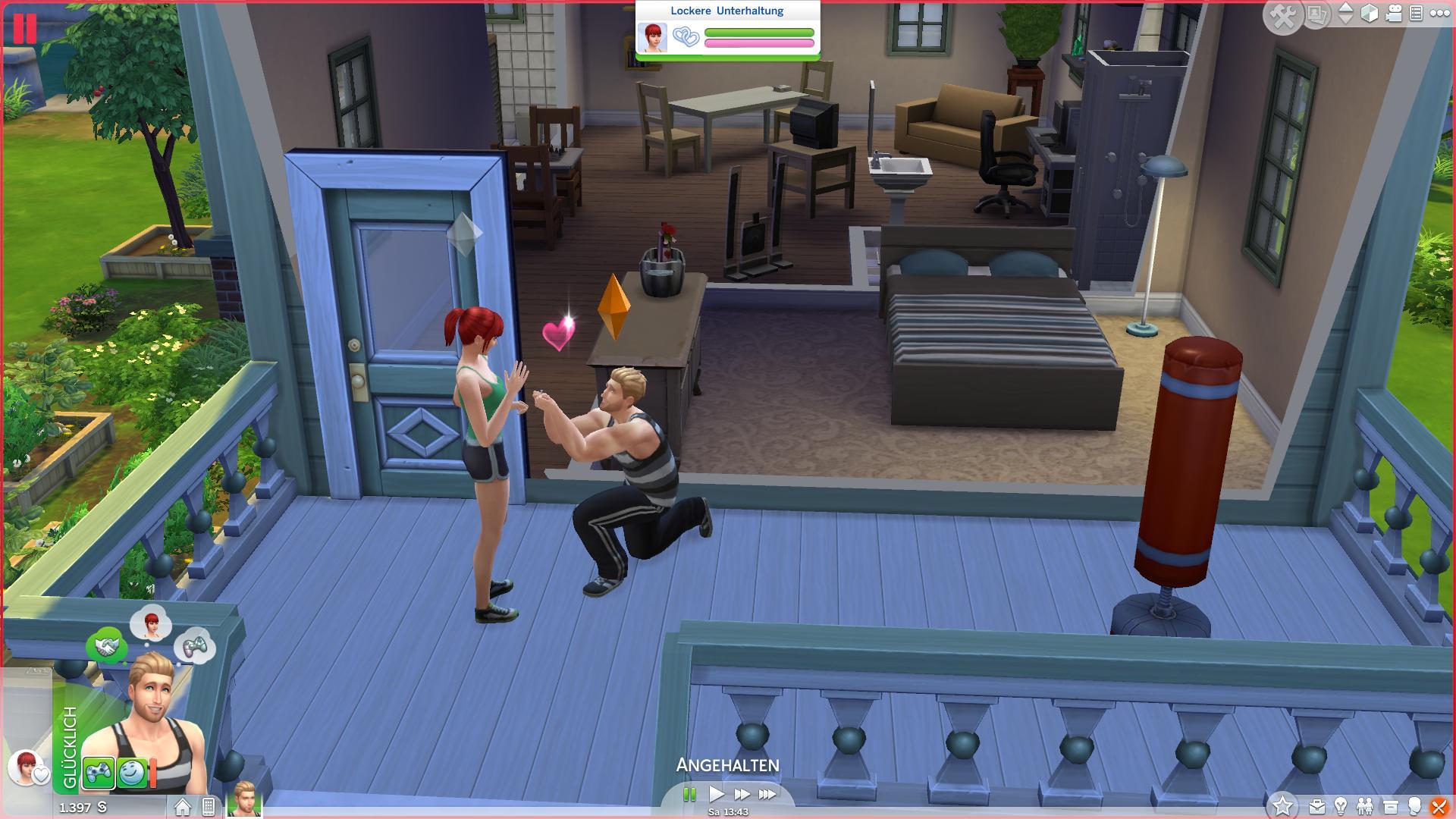 the sims spielen