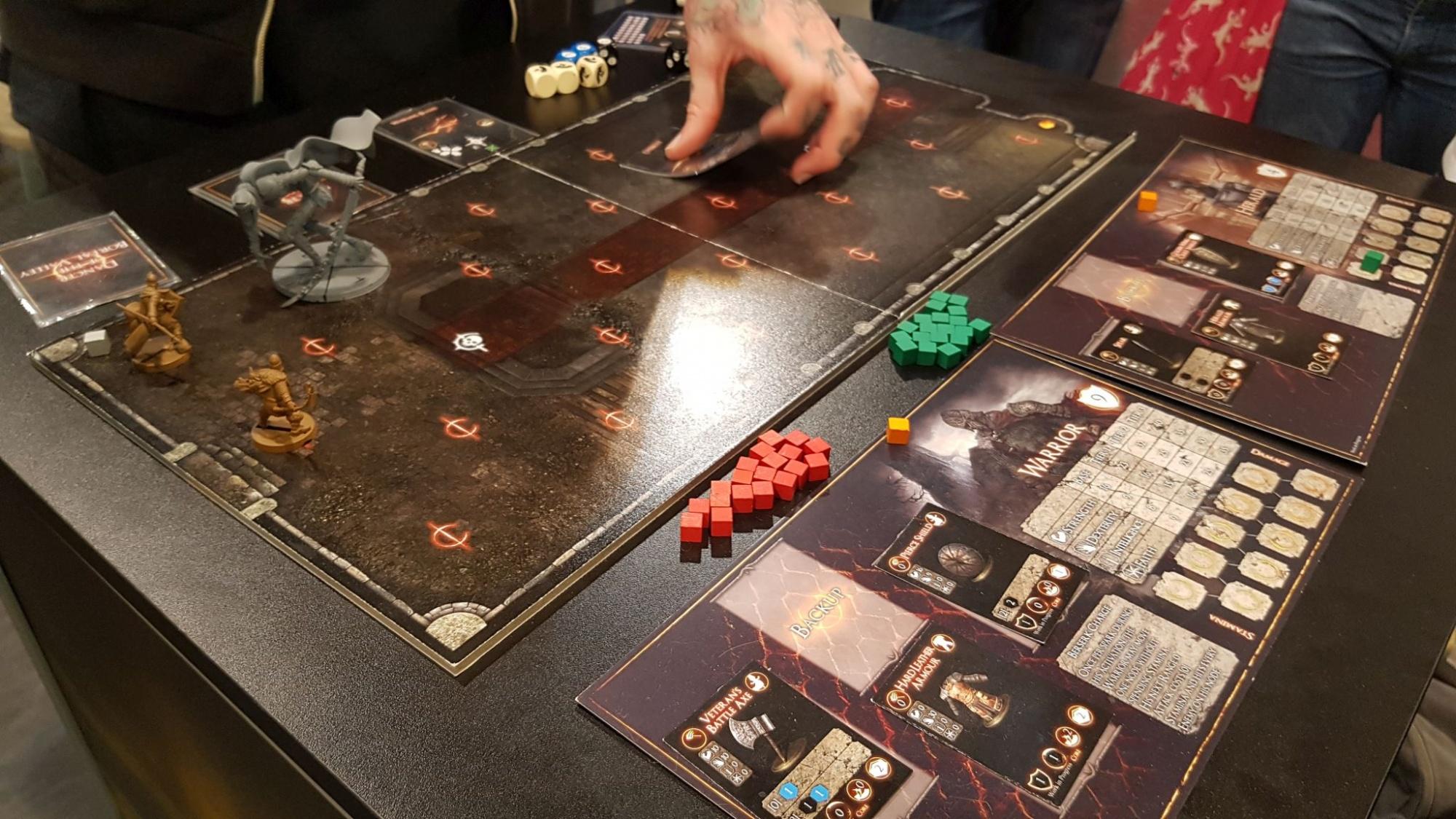 Brettspiel-Preview: Dark Souls Board Game selbst gespielt – so ...