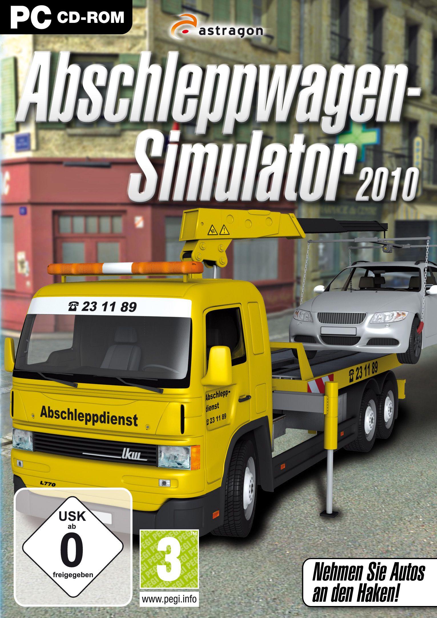 Abschleppwagen Simulator