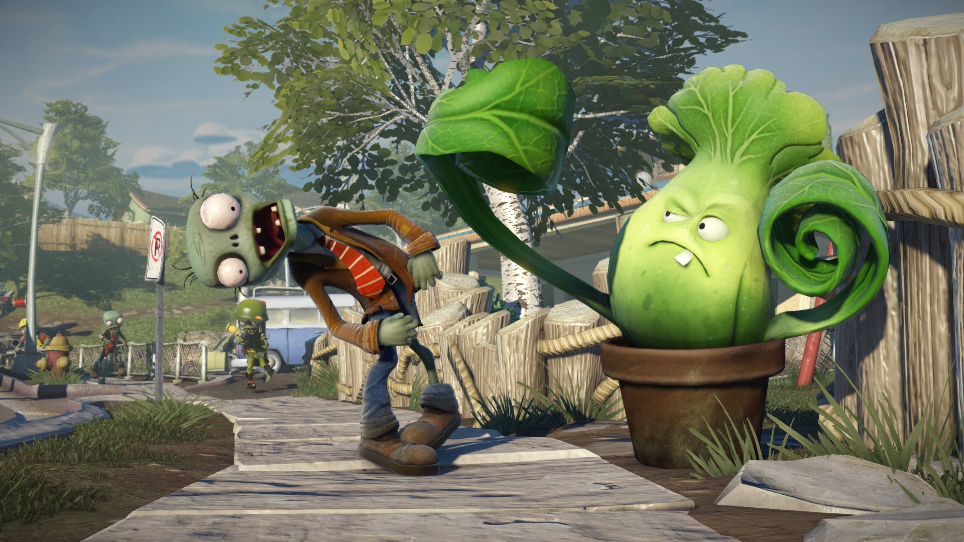 Plants Vs Zombies Garden Warfare Splitscreen Koop Best Tigt News