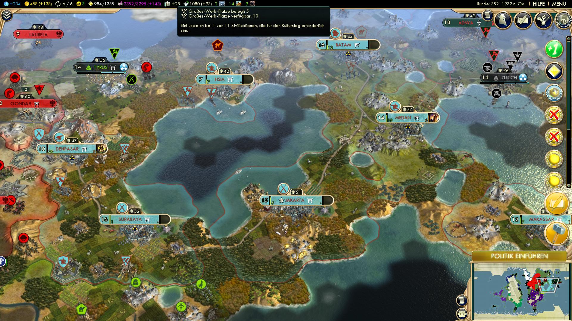 Civilization V Analyst: Brave New World - Well of Souls
