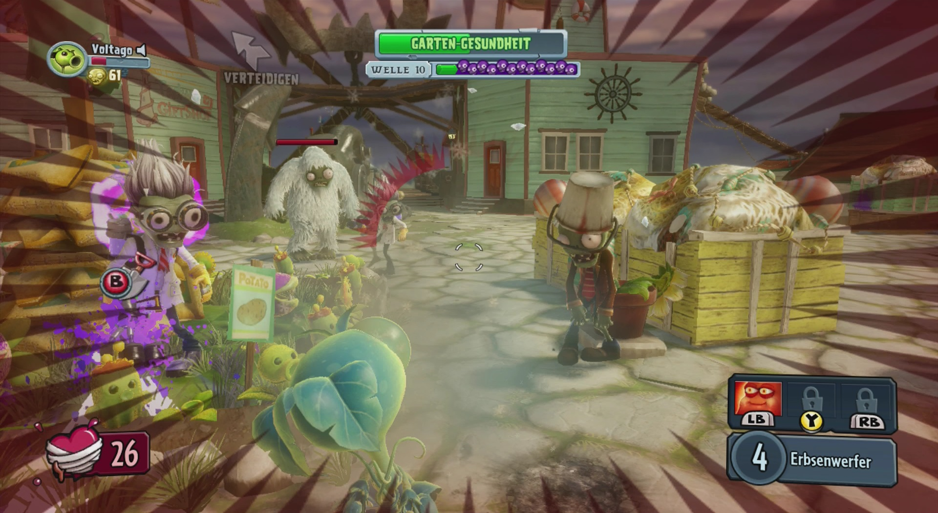 plants vs zombies garden warfare spielmodi