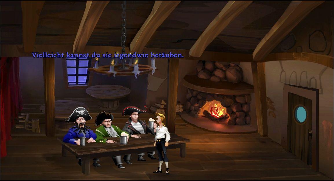 Monkey Island Schwertmeister Finden