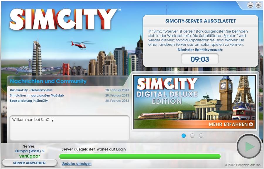 sim city online spielen