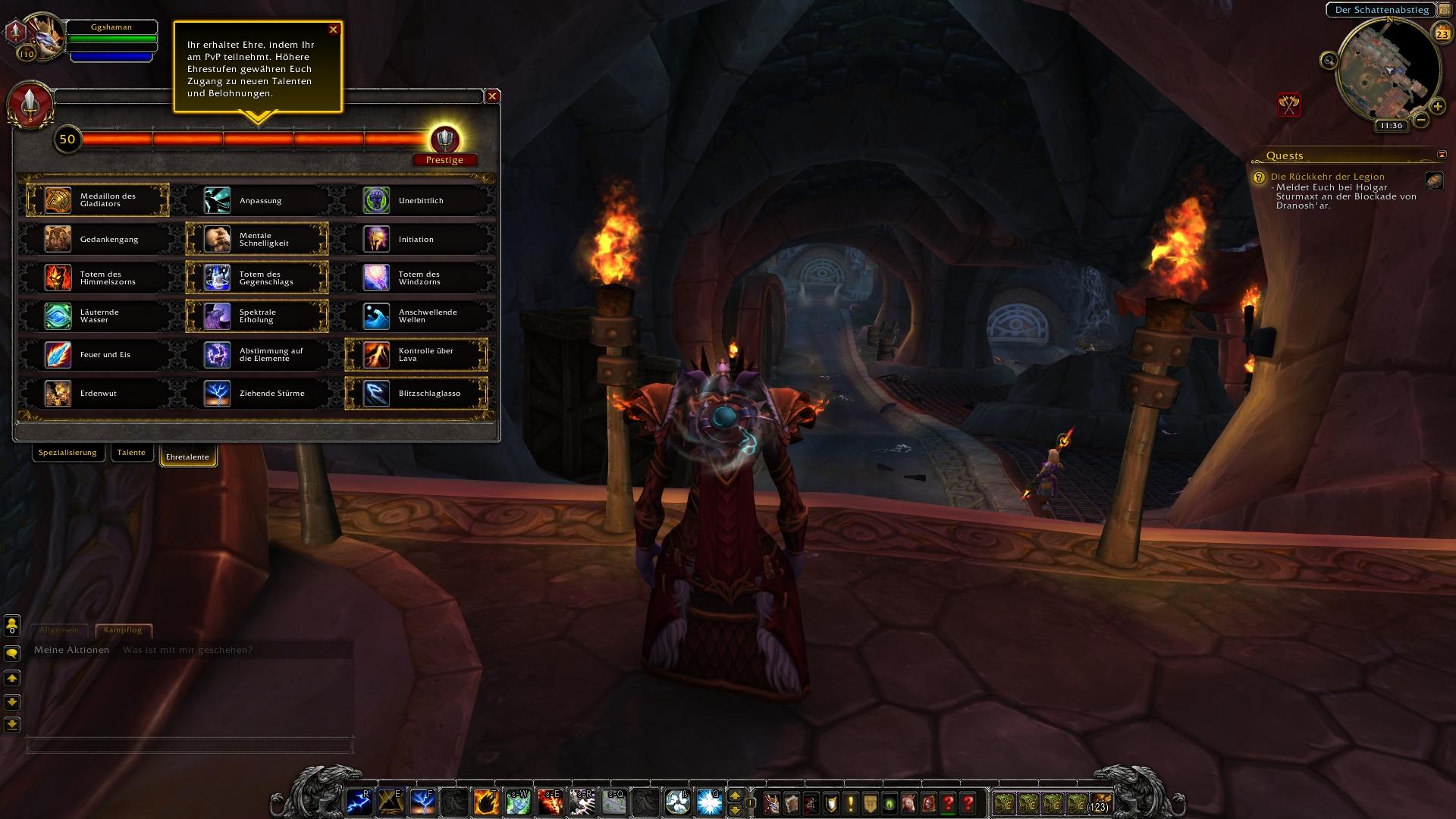 how to get prestige wow