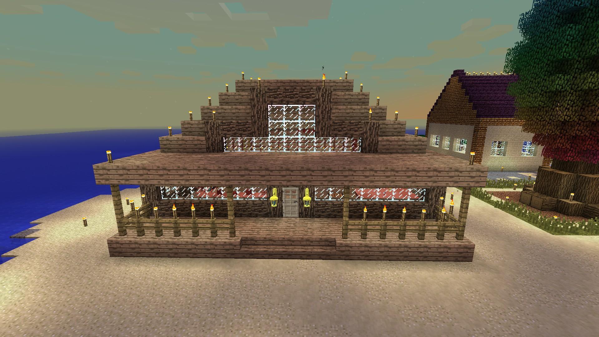 Minecraft ein tag im leben eines magiers magicworld 2 for Minecraft holzhaus
