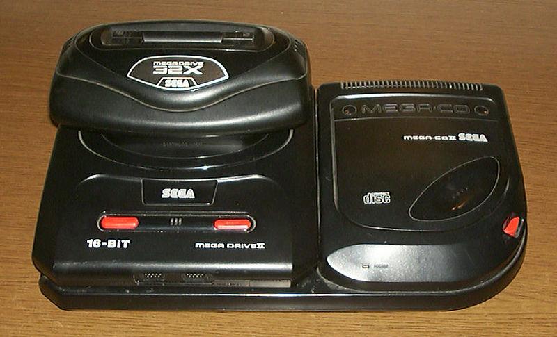 Der Sega Mega Drive + allen Addons