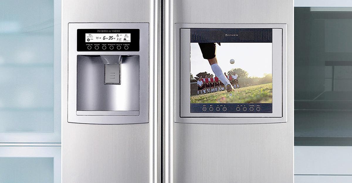 Kühlschrank mit Internet-Botnetz-Zugang