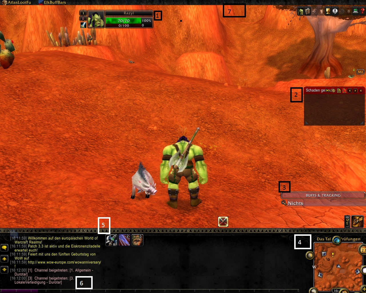 WoW: Interface selbstgemacht - S.3 - Guide | GamersGlobal.de