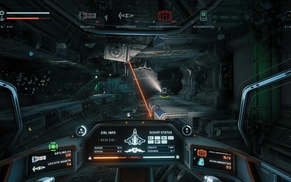 Everspace - verlassene Raumstation