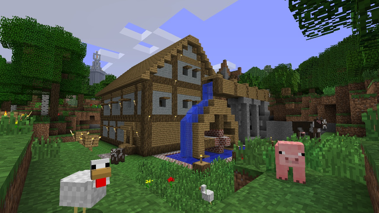 minecraft schweinezucht
