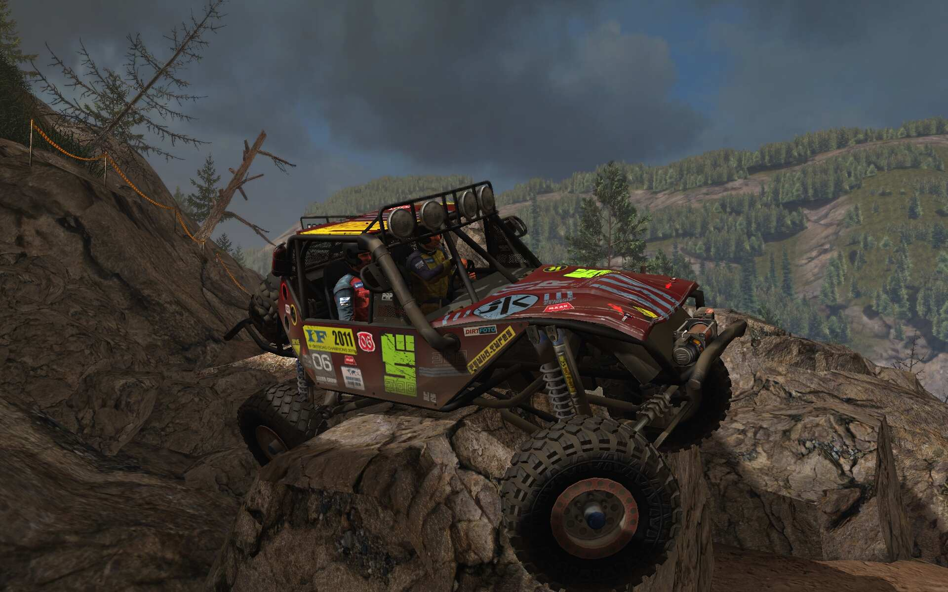 Geländewagen Simulator