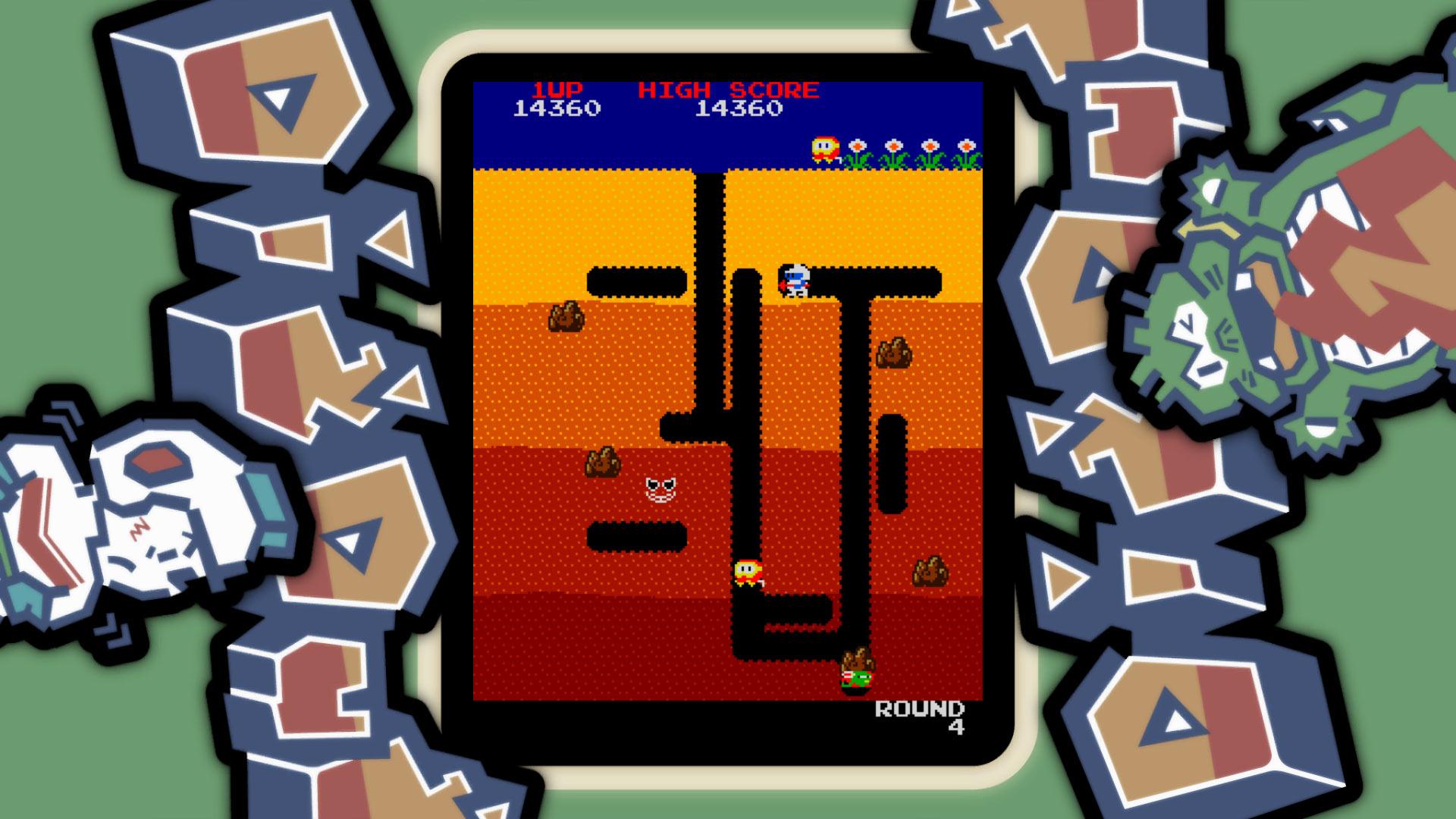 Dig Dug Galerie Gamersglobal