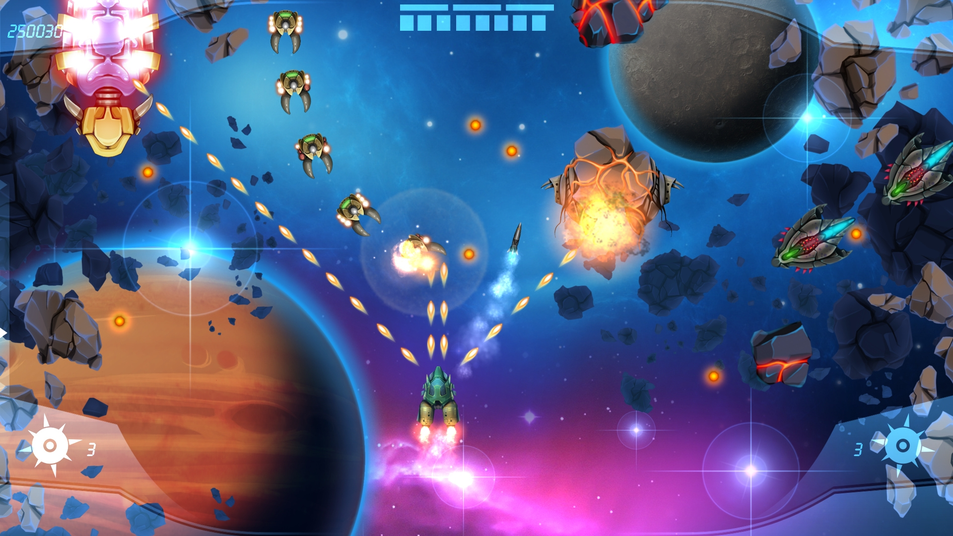 M A C E Space Shooter Galerie Gamersglobal