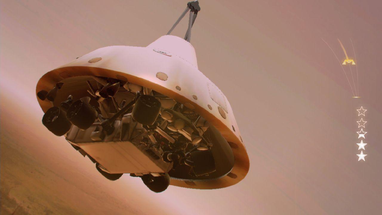 mars rover landing - 1280×720