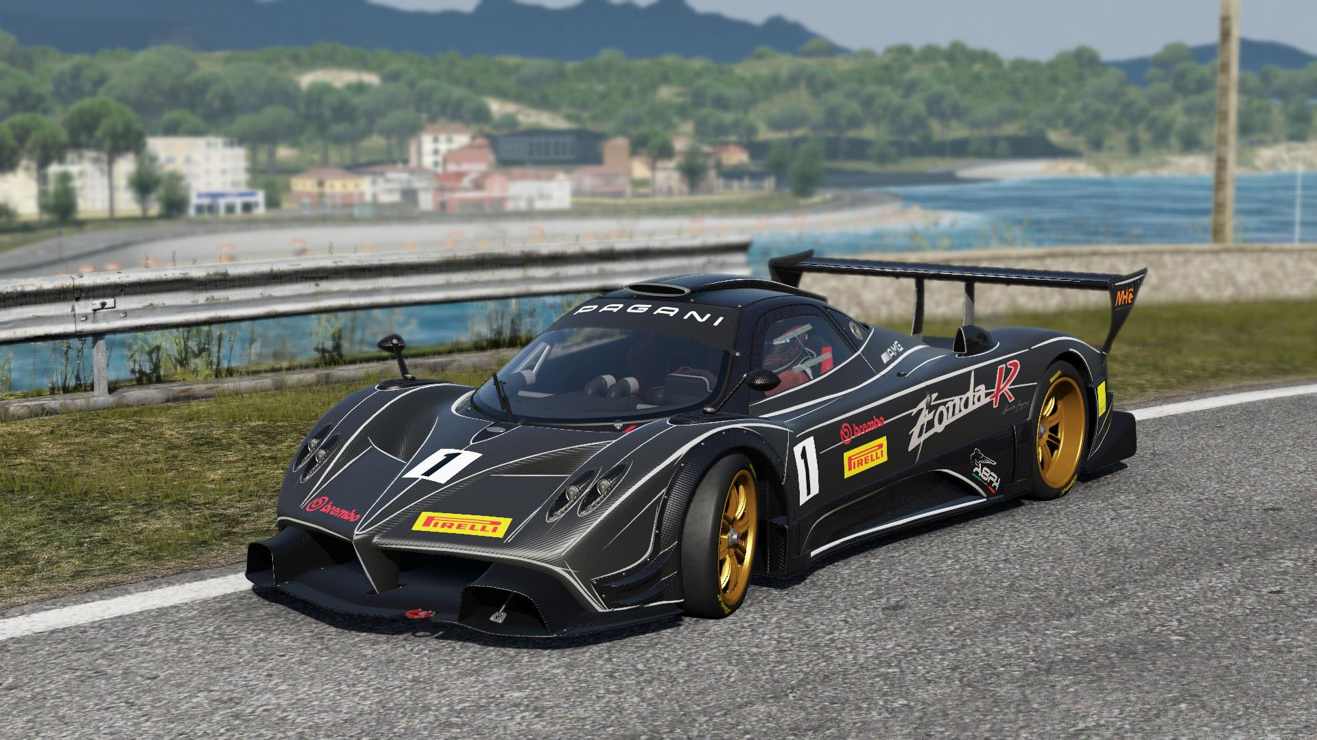 project cars: pagani zonda r (herstellerbilder vom 03.05.2012