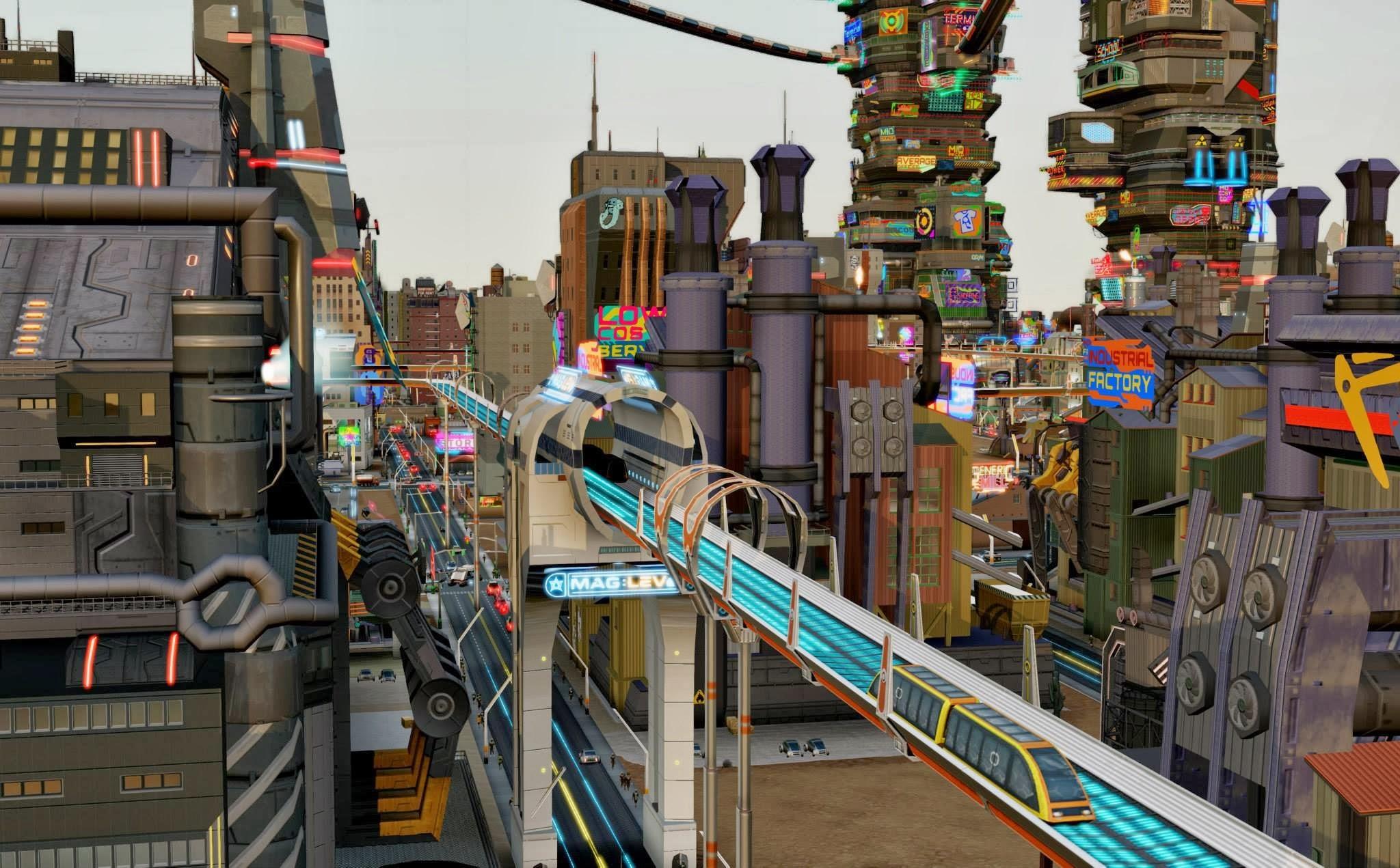 Simcity Städte Der Zukunft Herstellerbilder V 15102013