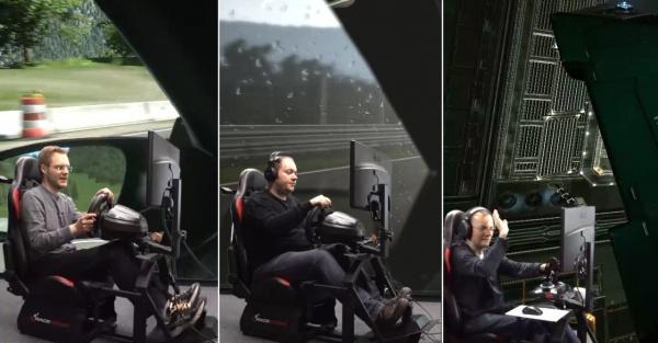 Vr Brille Für Raceroom : Force motion die plattform für sim racing und flug simulatoren