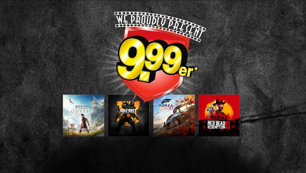 Gamestop-Tauschaktion: Red Dead Redemption 2 für zwei Spiele