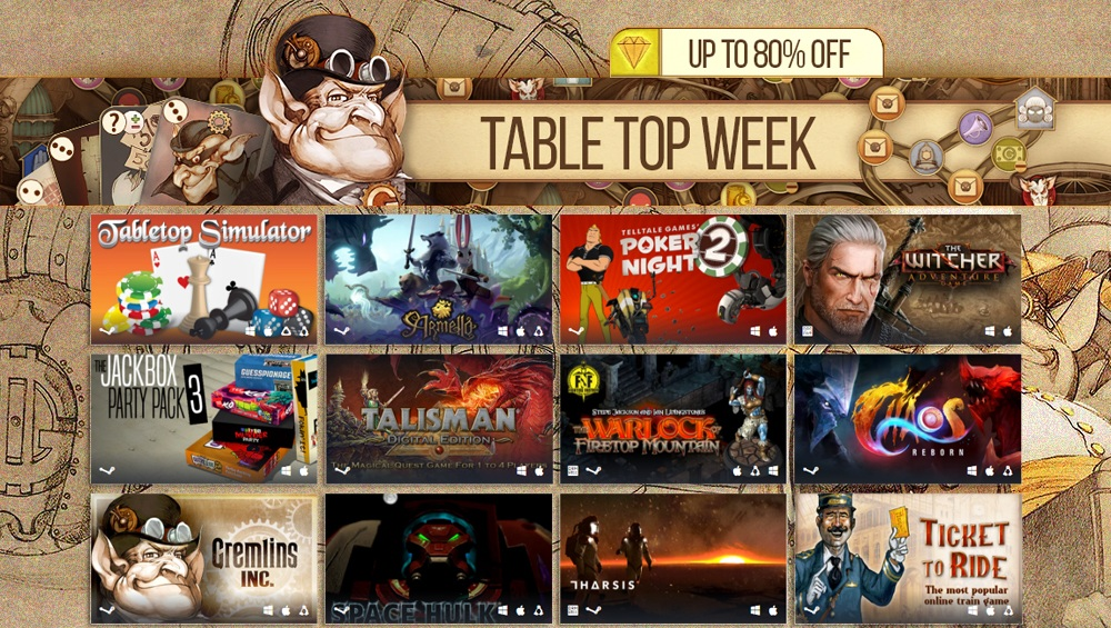 Humble Store Table Top Week Sale Mit Gremlins Inc Chaos Reborn