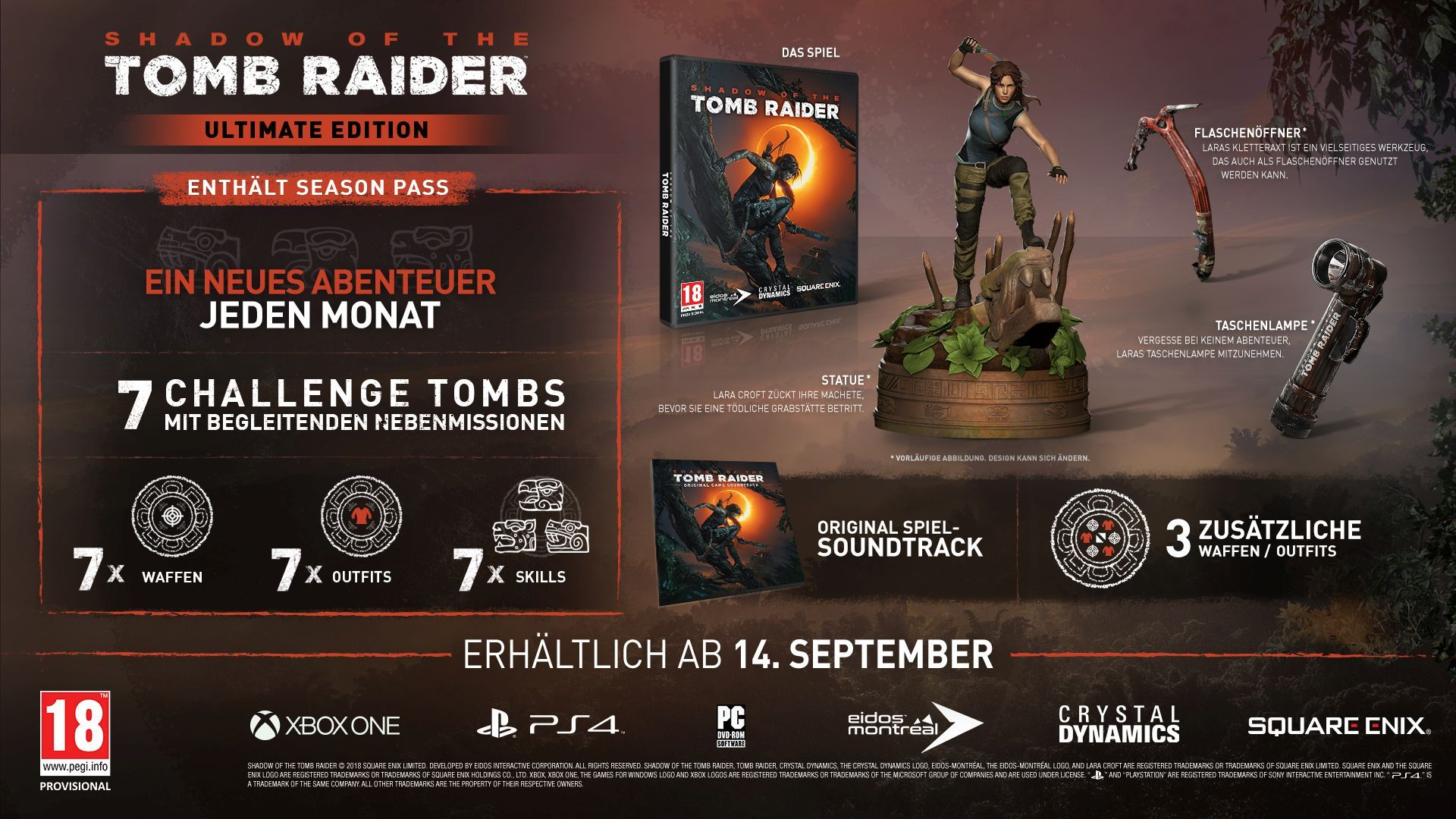 Shadow Of The Tomb Raider Ultimate Edition Im Unboxing Video News