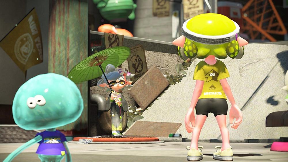 Splatoon 2: Nintendo zeigt den Einzelspieler-Modus im Video - News ...