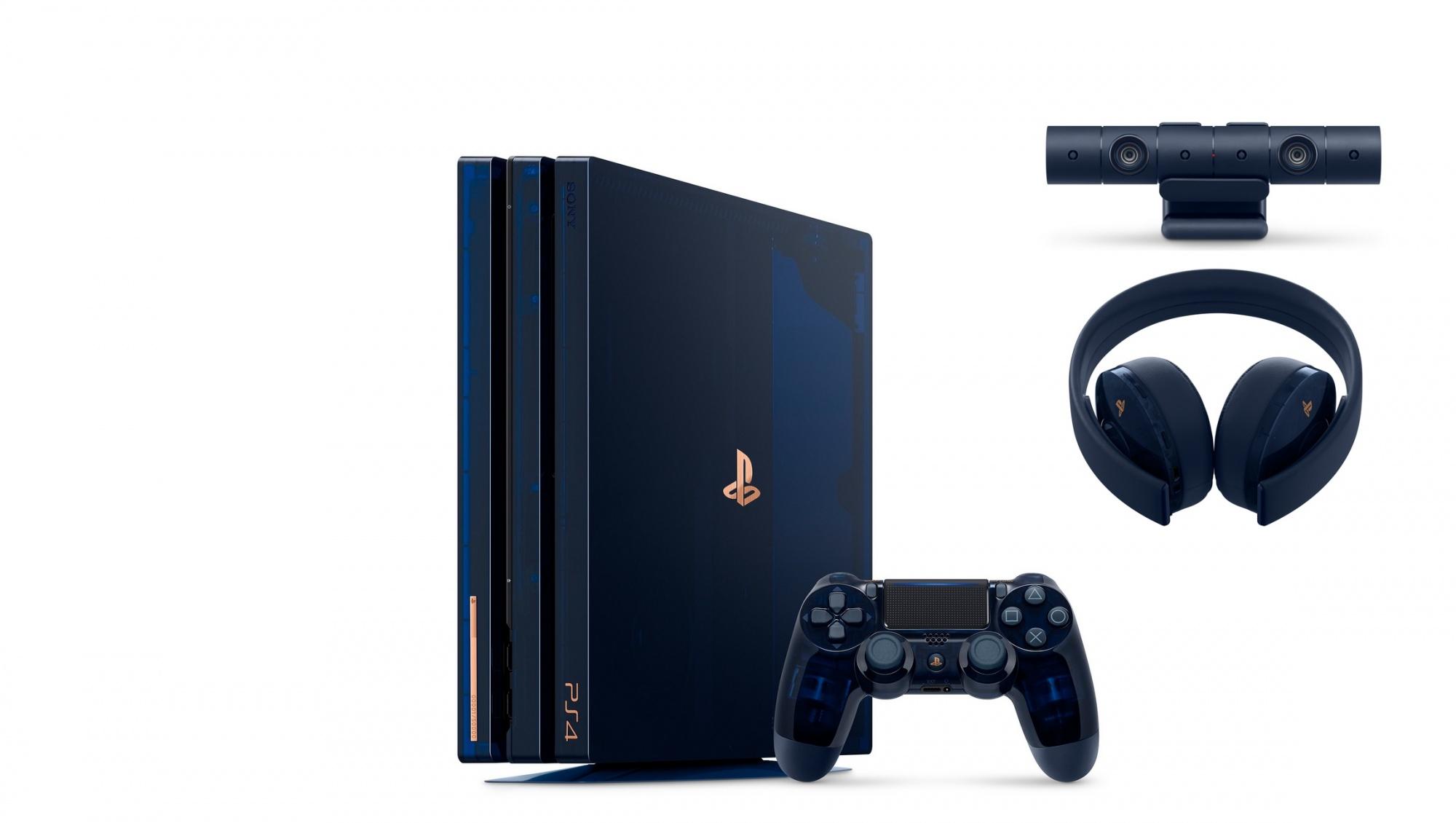 Sony Feiert 500 Mio Konsolen Verkaufe Mit Einer Limitierten Ps4