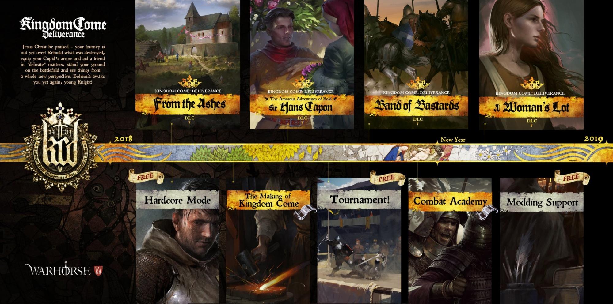 Kingdom Come Deliverance Karte Mit Allen Schätzen.E3 2018 Kingdom Come Deliverance Mit Dlc Informationen News