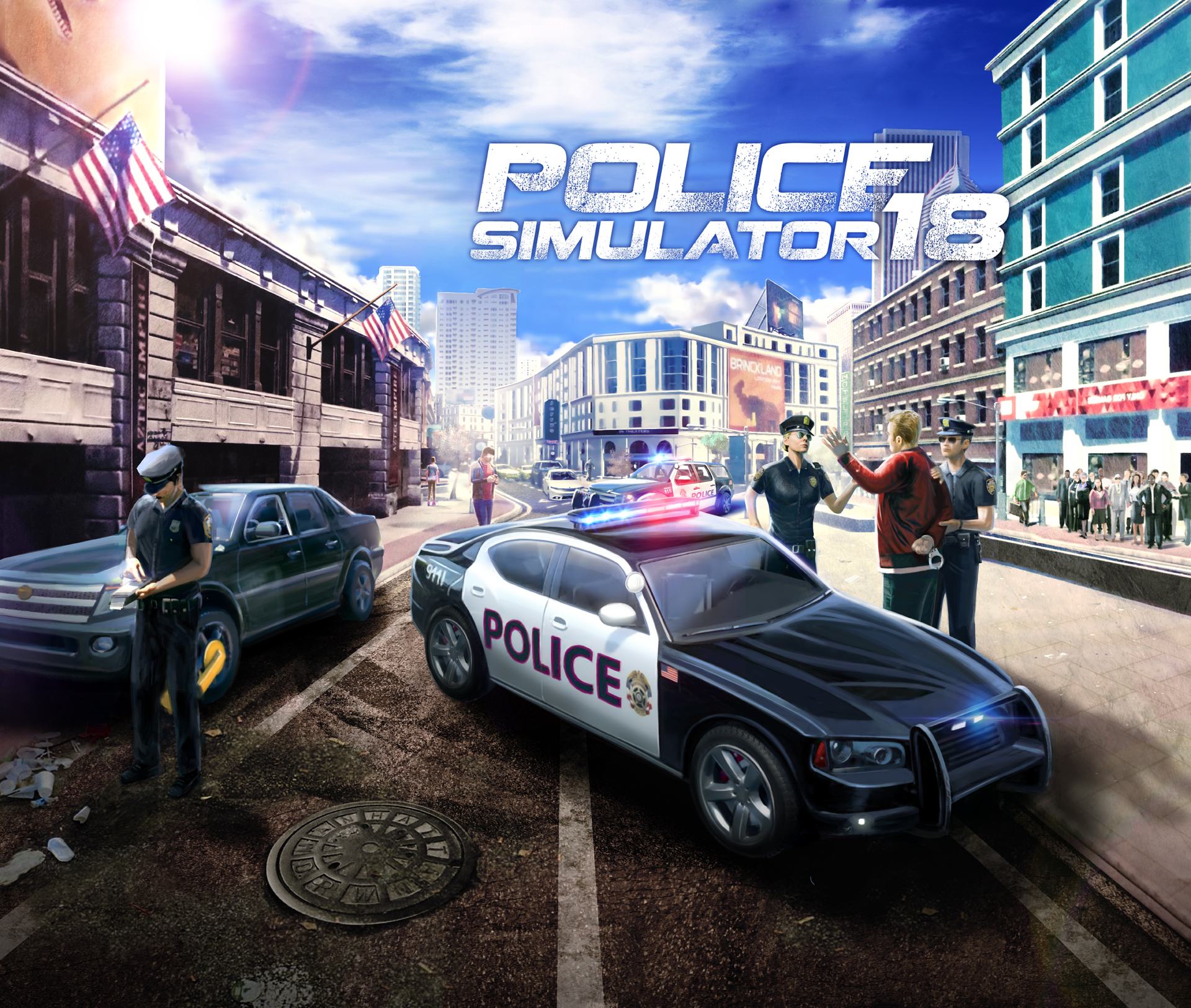 GC 2017: Police Simulator 2018 angeschaut - Wir machen Loston sicher ...